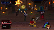 Traverse Town from KH1 gameplay 2