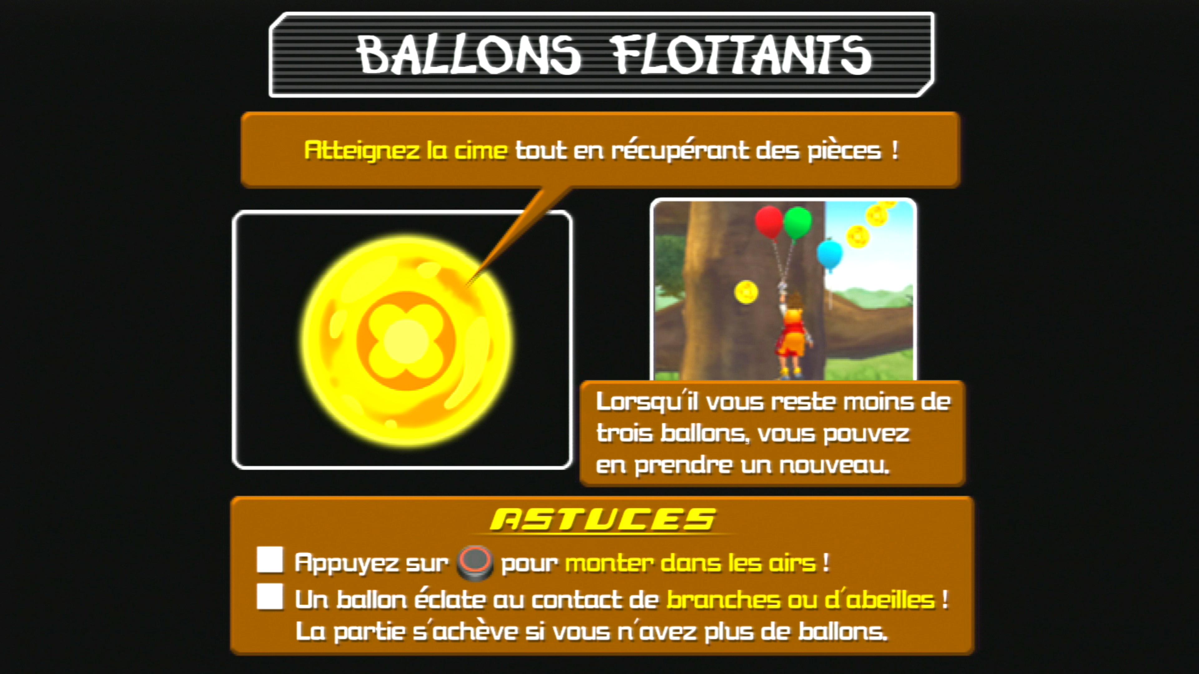 Ballons flottants