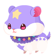 Purple Hamstar (Spirit) KHUX