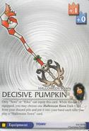 Decisive Pumpkin BoD-84