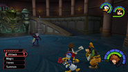 Hollow Bastion from KH1 gameplay 2