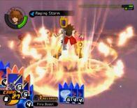 Sora Raging Storm