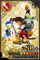 Carta SR+ Sora, Donald y Goofy
