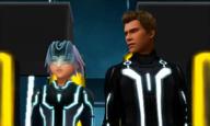 Riku meets Sam Flynn