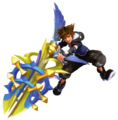 Sora (Element Form) KHIII