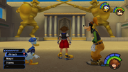 Olympus Coliseum from KH1 gameplay 1