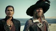 William Turner en Barbossa (POTC) KHIII