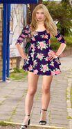 Sandra Weiss (Pain88) Floral Skaterdress 02