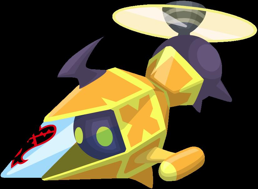 Yellow Gummi Copter