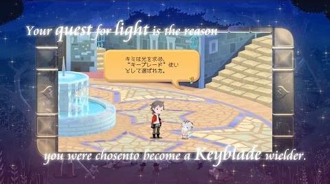 【キングダム ハーツ アンチェインド キー】 E32015トレイラー
