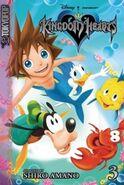 Cubierta KH1 volumen 3 manga