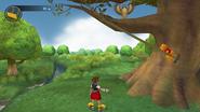 Pooh's Swing gameplay