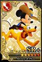 Carta SR+ Mickey y Pluto