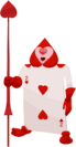 Card Soldier (Two of Hearts) KHX