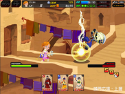 Kingdom Hearts X -chi- Combate en Agrabah