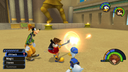 Fire from KH1 gameplay