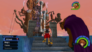 Hollow Bastion from KH1 gameplay 1