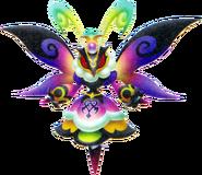 Queen Buzzerfly - Riku's Side (Nightmare)