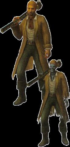Pirata Zombi C