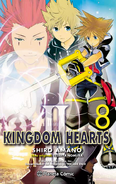 Kingdom Hearts II Tomo 8 (Manga)
