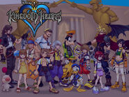 Kingdom Hearts postacie
