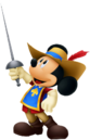 Rey Mickey (Mosquetero)