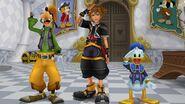 Sora, Goofy y Donald (KHIIFM) en KHHD1.5+2.5