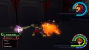 Simba summon from KH1 gameplay