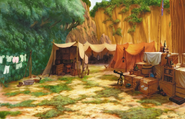 Deep Jungle- Camp (Art) KH