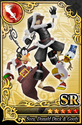 Carta SR Sora, Donald y Goofy CN