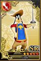Carta SR Goofy Mosquetero