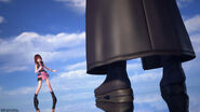 Memory of Melody - Kairi Black Cloaked Figure