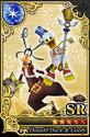 Carta SR Donald y Goofy CN