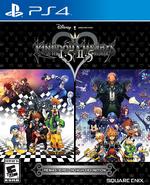Kingdom Hearts I.5 + II.5 Remix Boxart NA