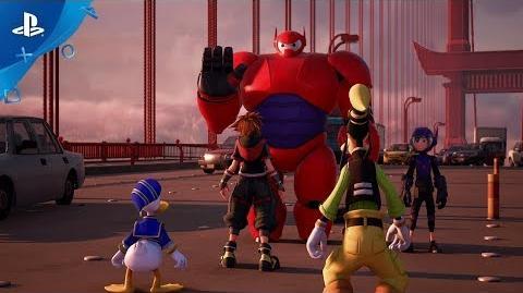 Kingdom Hearts III – Big Hero 6 Trailer PS4