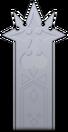Respaldo del trono de la Organización XIII KHII