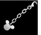 Kingdom Key Keychain