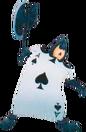 Card of Spades KH