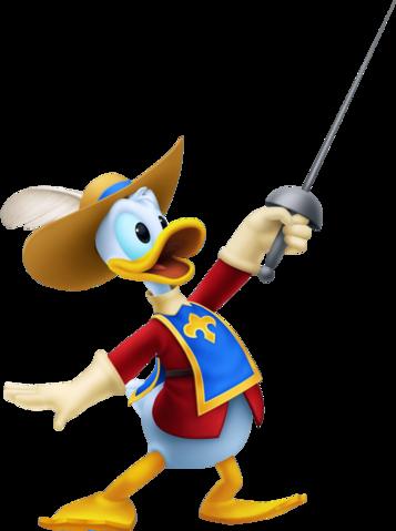 Donald (Mousquetaire)
