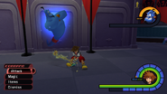 Genie summon from KH1 gameplay