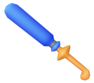 Struggle Sword from KH2 render