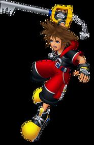 Sora (Battle) KH3D