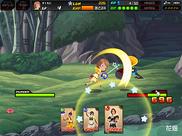 Kingdom Hearts X -chi- Combate en Bosque