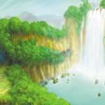 185px-Deep Jungle- Cliff (Art) KHI.png