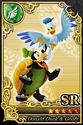 Carta SR Donald y Goofy Formas Tortuga y Pájaro