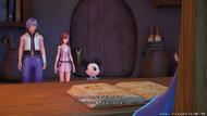 Riku, Kairi, Mickey y Yen Sid KHHD2.8