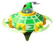 Green Gummi Saucer KHX