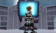 Sora in front of garden Computer