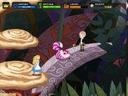 Kingdom Hearts for PC Browsers Alicia y Gato Risón