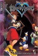 Cubierta KH1 volumen 4 manga